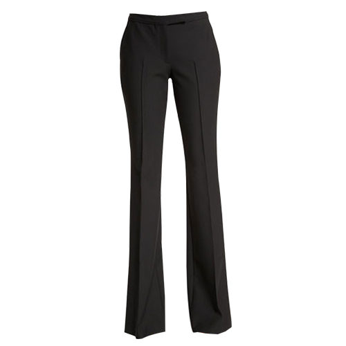 Elizabeth and James Hanlon flare-leg trousers in black