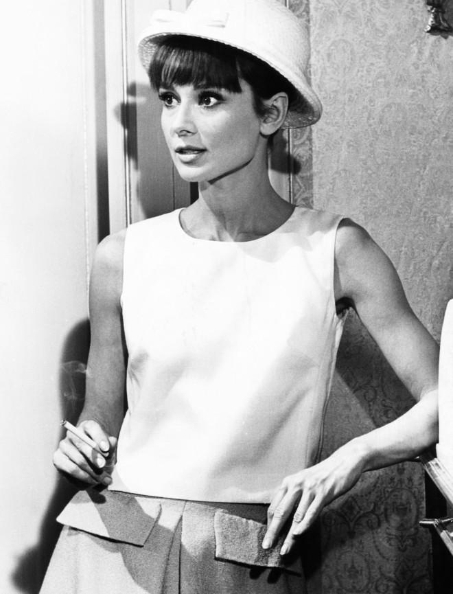 1b2498b639c Audrey Hepburn in Paris When it Sizzles, 1964.