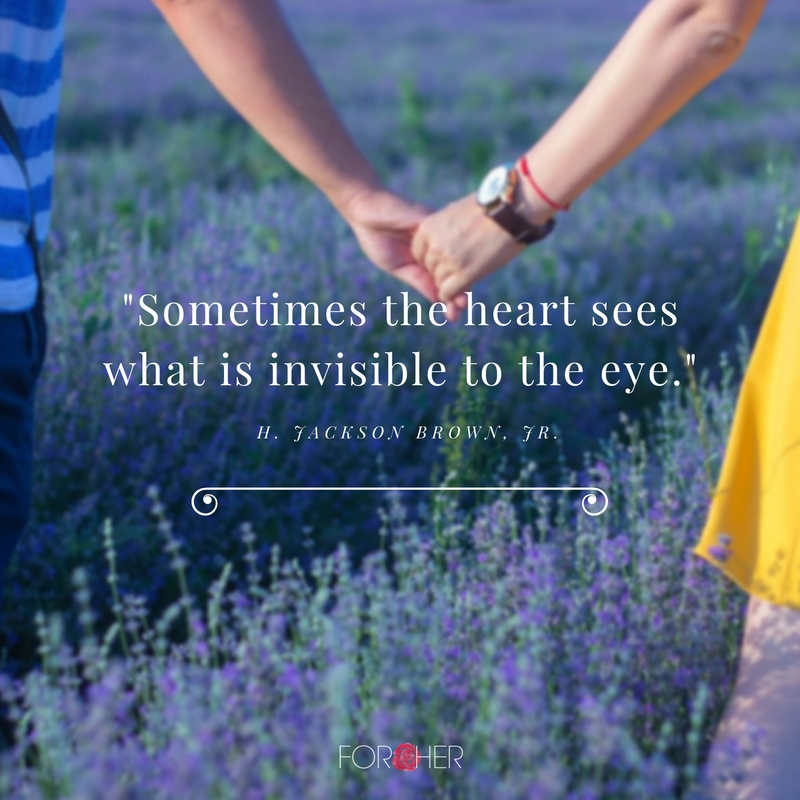 what is invisible to the eye